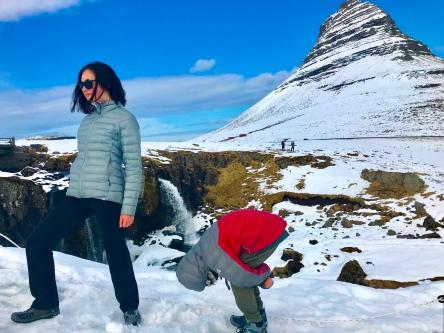 Kirkjufell & Kirkjufellsfoss in Grundarfjörður, Snæfellsnes peninsula