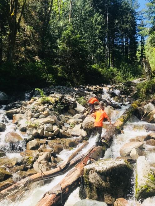 CCC Trail Waterfall WA State Hiking