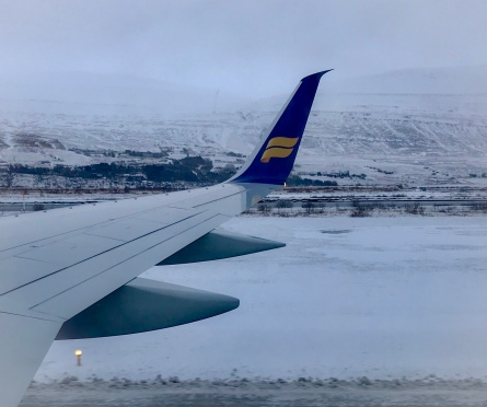 Iceland Air Akureyri airport