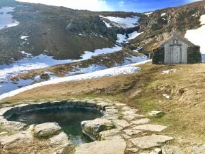 Gudrunarlaug hot spring Iceland