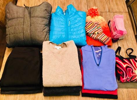 Spring packing list for Iceland Camper Van