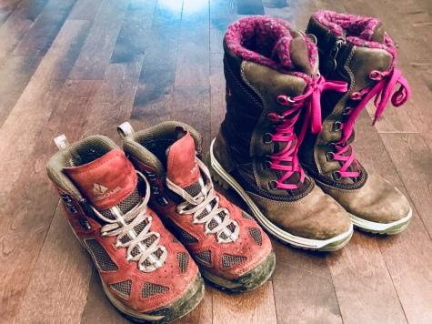 Spring in Iceland footwear